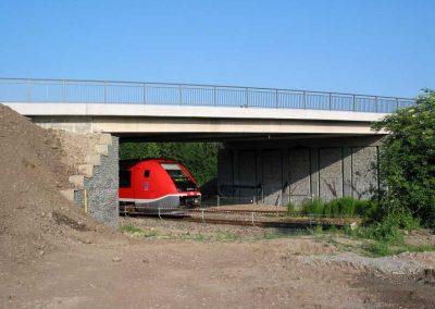 Brücke über die DB Moskauer Straße Weimar
