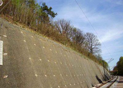 DB-Strecke bei Kirkel