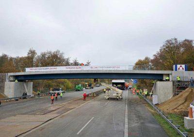 Brücke über A1 Stockkumer Straße