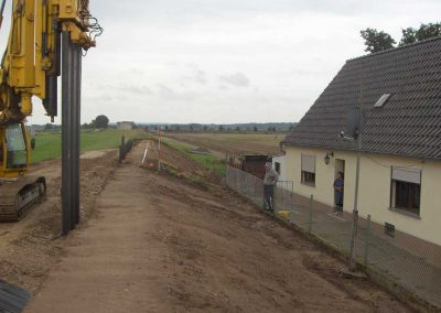 Elbdeiche bei Torgau