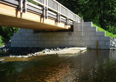 Brücke über die Selke bei Mandelholz