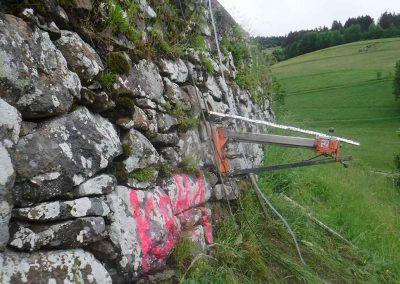 Kernbohrungen Beton, Mauerwerk und Asphalt